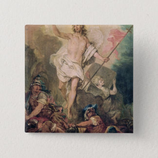 Study for the Resurrection for a painting Button