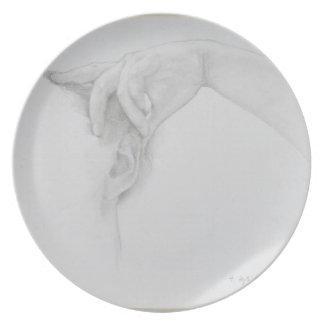 Study for 'Thermaie Antoniniane', 1899 (pencil on Melamine Plate