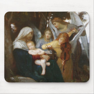 Study for Vierge aux anges by William Bouguereau Mousepad