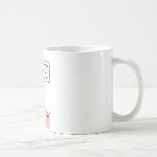 study government hypocrisy coffee mug