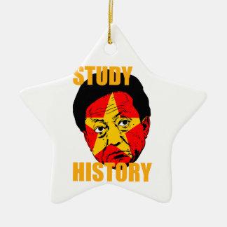 Study History Ceramic Ornament