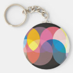 Study in Circles Keychain