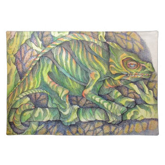 Study of A Chamelion Placemat