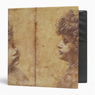 Study of a child's head 3 ring binder