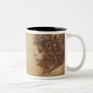 Study of a child's head Two-Tone coffee mug