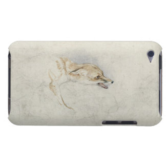 Study of a crouching Fox, facing right verso: fain iPod Touch Case-Mate Case