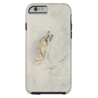 Study of a crouching Fox, facing right verso: fain Tough iPhone 6 Case