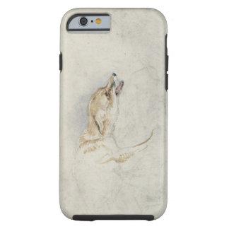 Study of a crouching Fox, facing right verso: fain Tough iPhone 6 Case