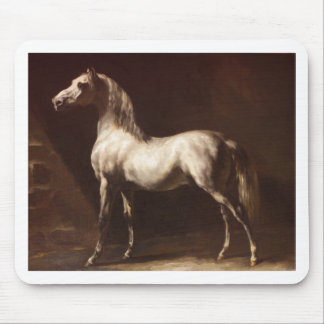 Study of a Dapple Grey by Theodore Gericault Mouse Pad