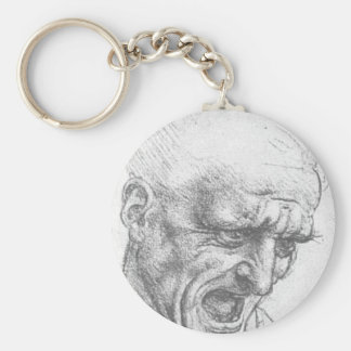Study of a Figure for the Battle of Anghiari. Keychain
