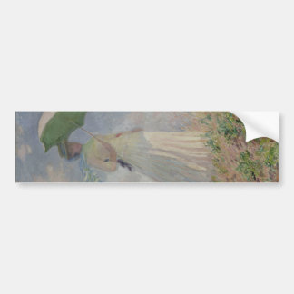 Study of a Figure Outdoors (Facing Right) (1886) Car Bumper Sticker