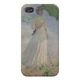 Study of a Figure Outdoors (Facing Right) Monet iPhone 4 Cover