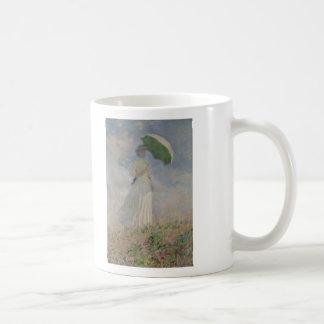 Study of a Figure Outdoors (Facing Right) Monet Mug