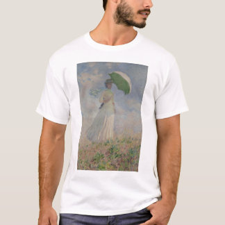 Study of a Figure Outdoors (Facing Right) Monet T-Shirt