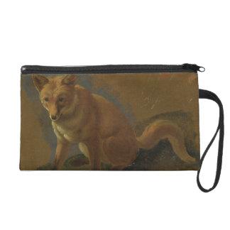 Study of a Fox (oil on panel) Wristlet