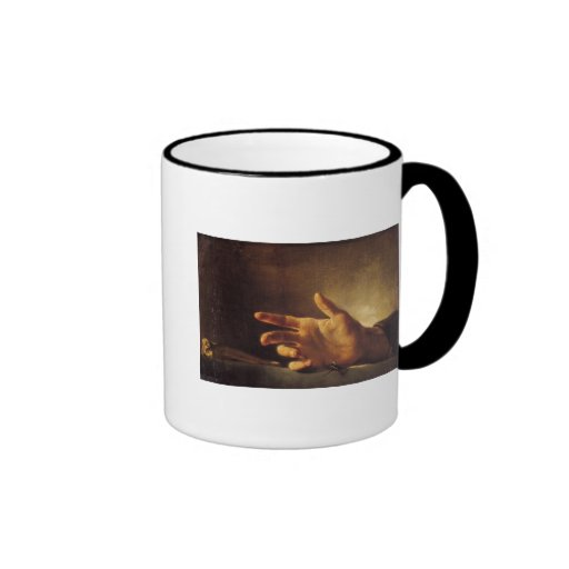 Study of a Hand Coffee Mug