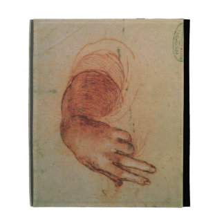 Study of a hand (red chalk on paper) iPad folio case