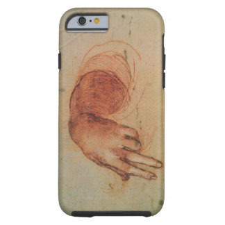 Study of a hand (red chalk on paper) tough iPhone 6 case