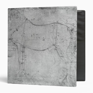 Study of a Horse 3 Ring Binder