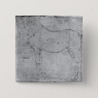 Study of a Horse Button
