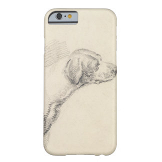 Study of a Hound, 1794 (pencil on paper) Barely There iPhone 6 Case