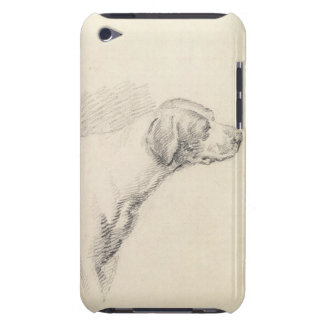 Study of a Hound, 1794 (pencil on paper) Barely There iPod Cover