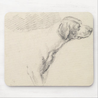 Study of a Hound, 1794 (pencil on paper) Mouse Pad