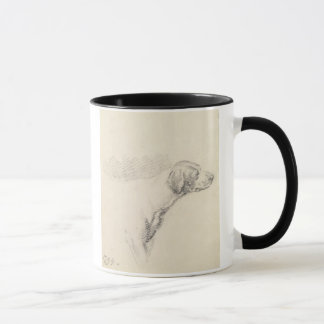 Study of a Hound, 1794 (pencil on paper) Mug