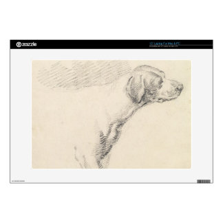 Study of a Hound, 1794 (pencil on paper) Skins For Laptops