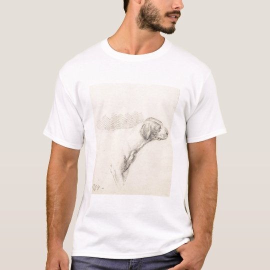 Study of a Hound, 1794 (pencil on paper) T-Shirt