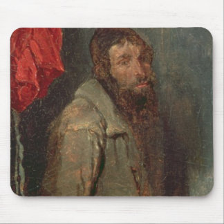 Study of a Jewish Merchant (oil on board) Mouse Pad