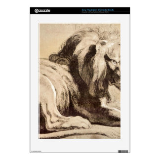 Study of a Lion by Paul Rubens PS3 Skin