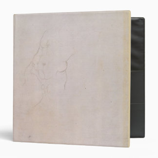 Study of a male torso 3 ring binder
