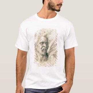 Study of a man shouting T-Shirt