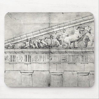 Study of a pediment from the Parthenon Mouse Pad