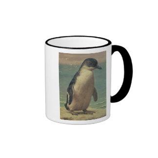 Study of a Penguin Ringer Coffee Mug
