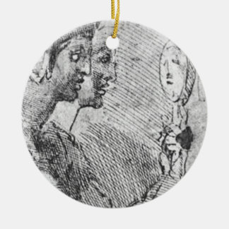 Study of a Seated Woman Christmas Ornaments