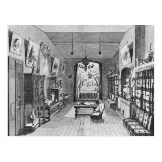 Study of Alexandre Dumas Pere Postcard