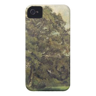 Study of an Ash Tree, c.1851 (oil on paper on pane iPhone 4 Case-Mate Case
