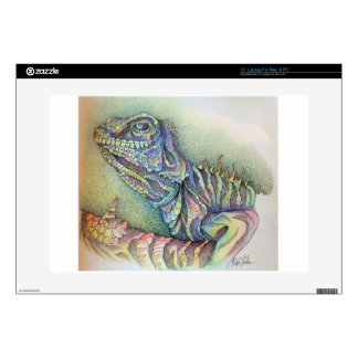 Study of An Iguana Decal For Laptop