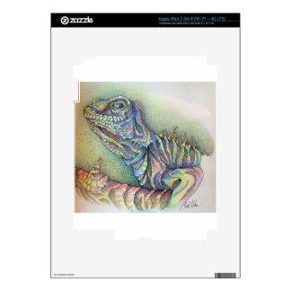 Study of An Iguana iPad 3 Skin