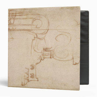 Study of an Ionic capital 3 Ring Binder