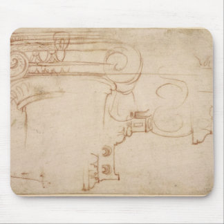 Study of an Ionic capital Mouse Pad