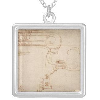 Study of an Ionic capital Custom Jewelry