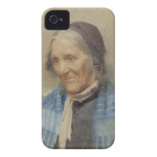 Study of an Old Woman, 1912 (w/c on paper) iPhone 4 Covers
