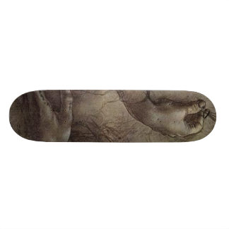 Study of Arms and Hands Skateboard Deck