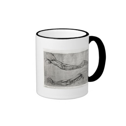 Study of Arms Coffee Mugs