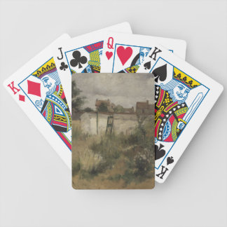Study of Barbizon Bicycle Playing Cards