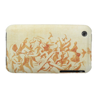Study of Christ Carrying the Cross (chalk and wash iPhone 3 Case-Mate Cases