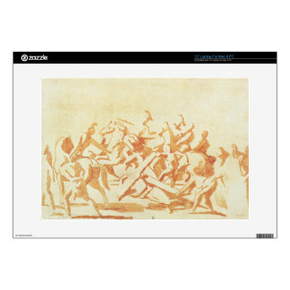 Study of Christ Carrying the Cross (chalk and wash Decal For Laptop